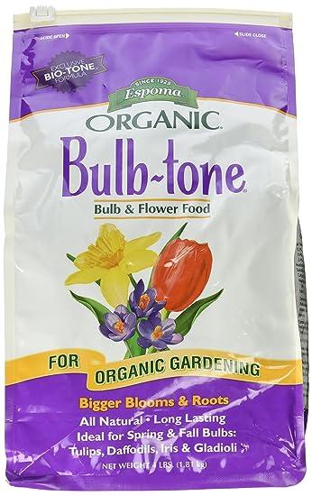 Amazoncom Espoma BT4 4 Pound Bulb tone 3 5 3 Plant Food