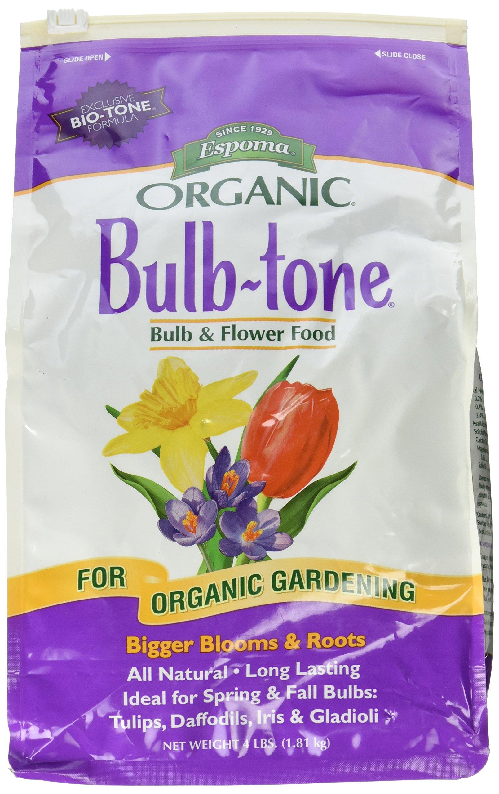 Espoma BT4 4-Pound Bulb-tone 3-5-3 Plant Food