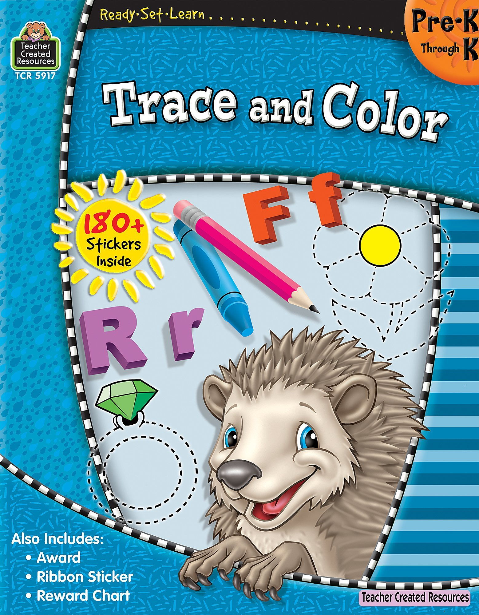Read Online Ready-Set-Learn: Trace and Color PreK-K pdf epub