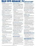 Microsoft Word 2013 Advanced Quick Reference: Styles & Long Documents (Cheat Sheet of Instructions, Tips & Shortcuts - Laminated Card)