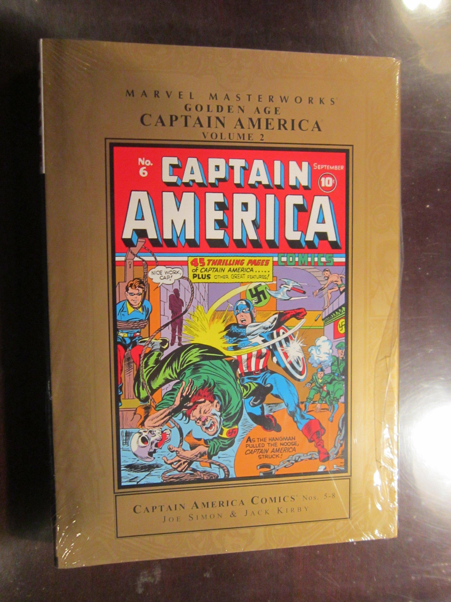 Download Marvel Masterworks: Golden Age Captain America - Volume 2 ebook
