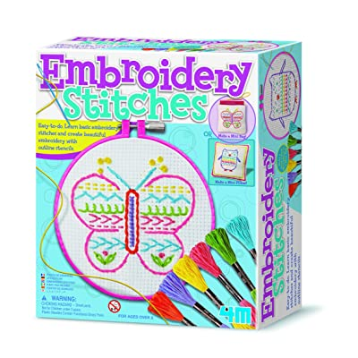 4M Easy to Make Embroidery Stitches: Toys & Games
