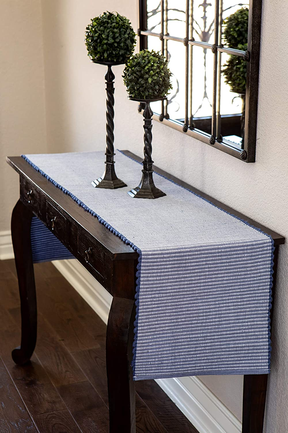 Sticky Toffee Chunky Ribbed Reversible Table Runner