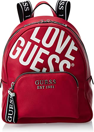Guess Sac à Backpack Haidee Red: : Chaussures et Sacs