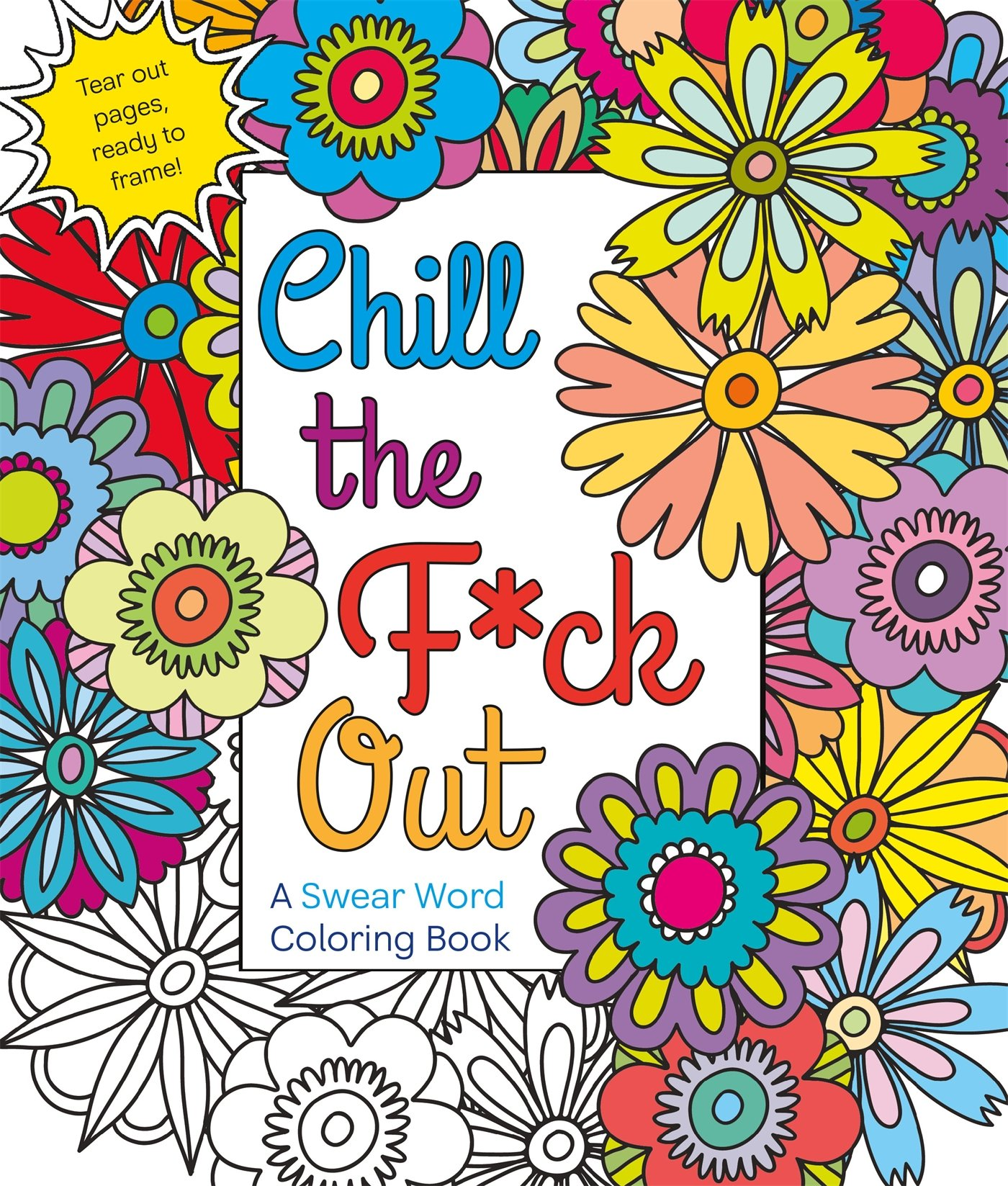 Amazon Chill The Fck Out A Swear Word Coloring Book 9781250116406 Hannah Caner Books