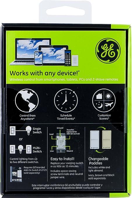 iris zwave ge 45637 wireless lighting. Jasco 45609 Z-Wave Wireless Lighting Control On/Off Switch: Amazon.co.uk: Iris Zwave Ge 45637 D
