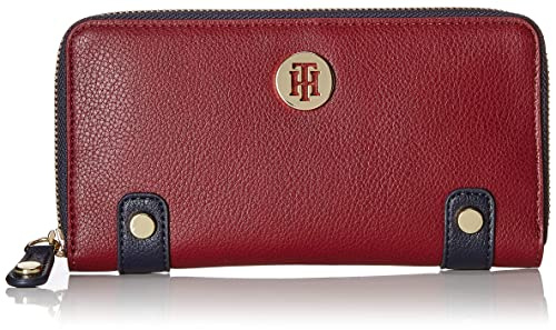 Tommy Hilfiger - Chain Za Wallet, Carteras Mujer, Azul ...
