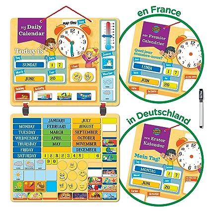 Deluxe Kids calendar-134 emocionante aprendizaje imanes. Heavy ...