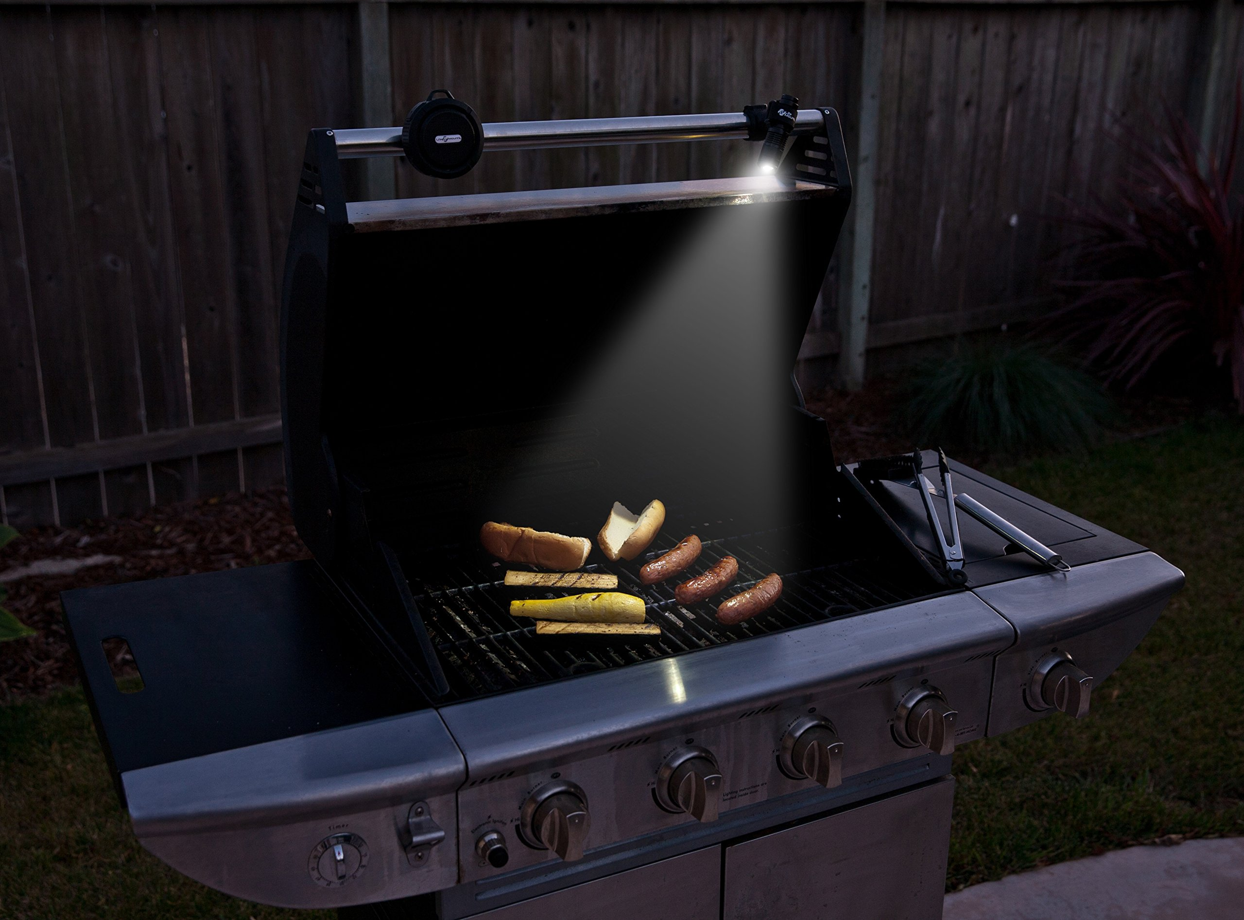 Life Mounts All Weather LED Barbecue Grill Light with Patented Universal Flex Mount (Black) by Life Mounts (Image #2)