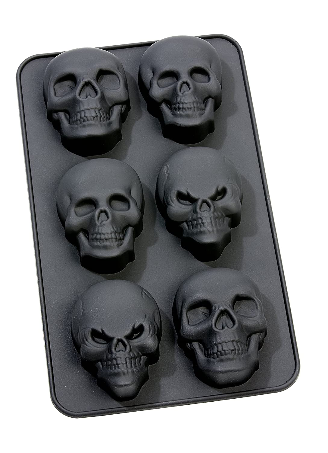 infinite by GEDA LABELS 13657 Silicone Muffin Mould Skull
