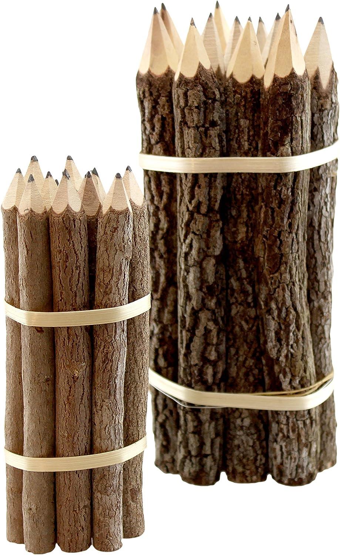 Tamarind Wood Branch Pencils, 12-Pencils (7 inches) BPN3