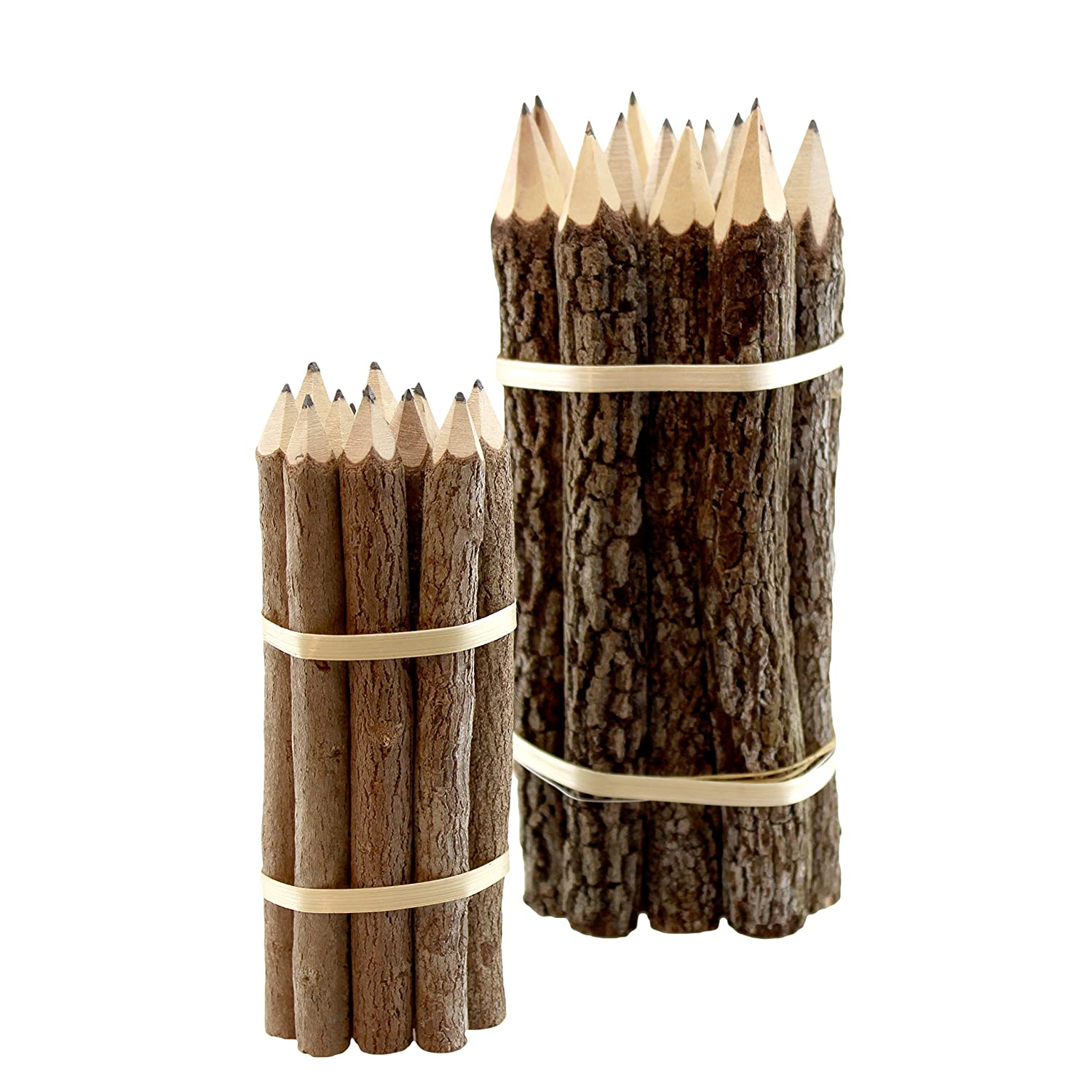 Tamarind Wood Branch Pencils, 12-Pencils (7 inches) BPN3 World Buyers BPN3ZZZZ