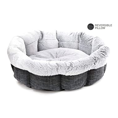 Best Pet Supplies - Breathable Linen Pet Bed for Summer
