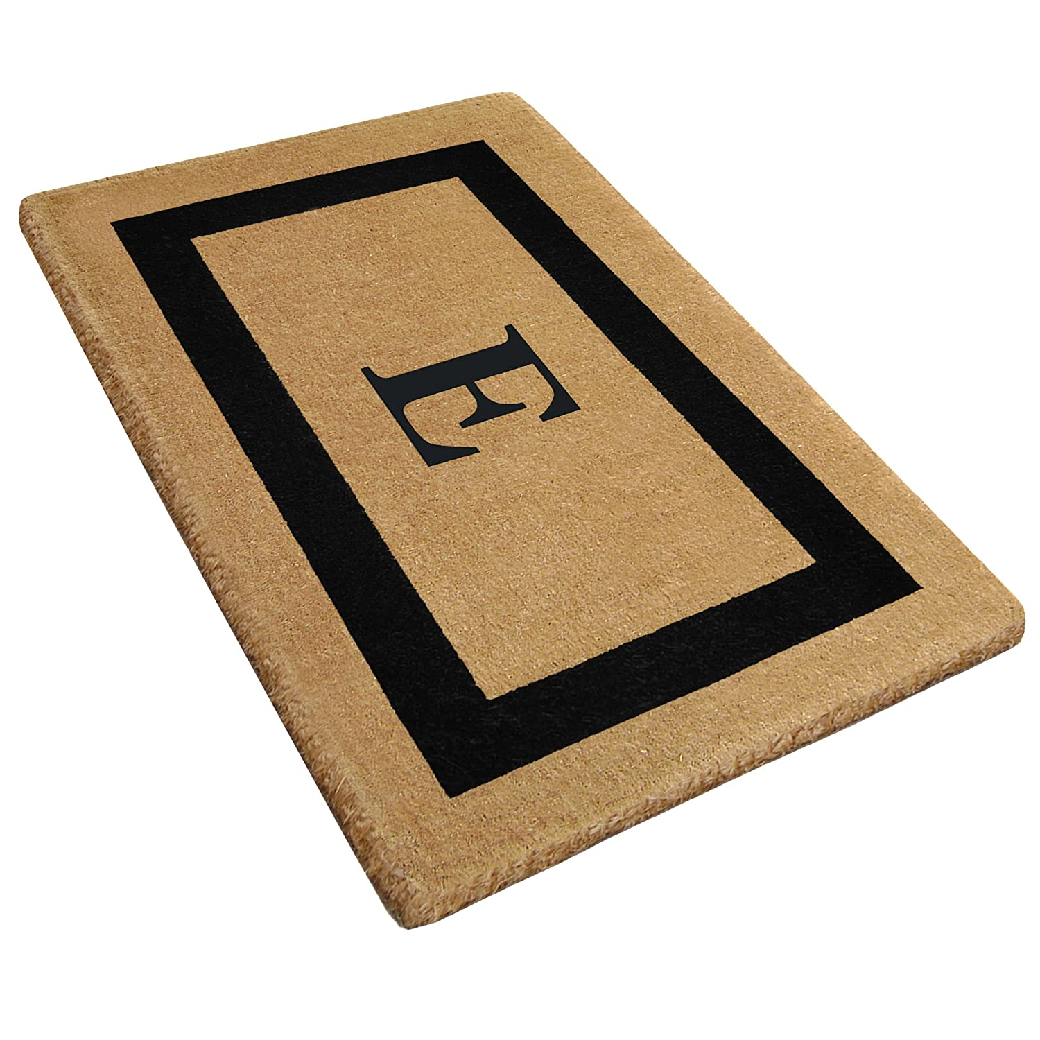 Heavy Duty Coco 30 x 48 Mat Black Single Picture Frame Monogrammed N Nedia Enterprises O2080N