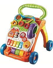 VTech Baby - Correpasillos andandín 2 en 1, andador de bebé interactivo, centro de actividades extraíble, múltiples funciones y regulador de velocidad (80-077022)