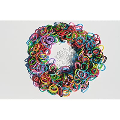 Loom Rubber Bands - 600 Twistz Bandz Refills Variety Value Pack with Clips (Rainbow Colors) - 100% Compatible with Rainbow Loom: Toys & Games