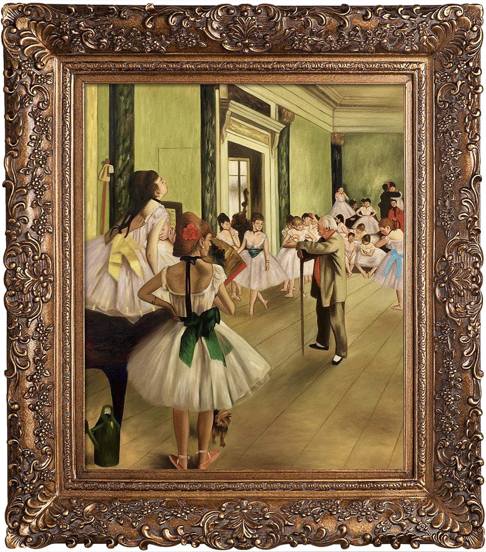 BALLET DANCE CLASS BEGUN TEACHER 1876 FINE PAINTING BY EDGAR DEGAS REPRO