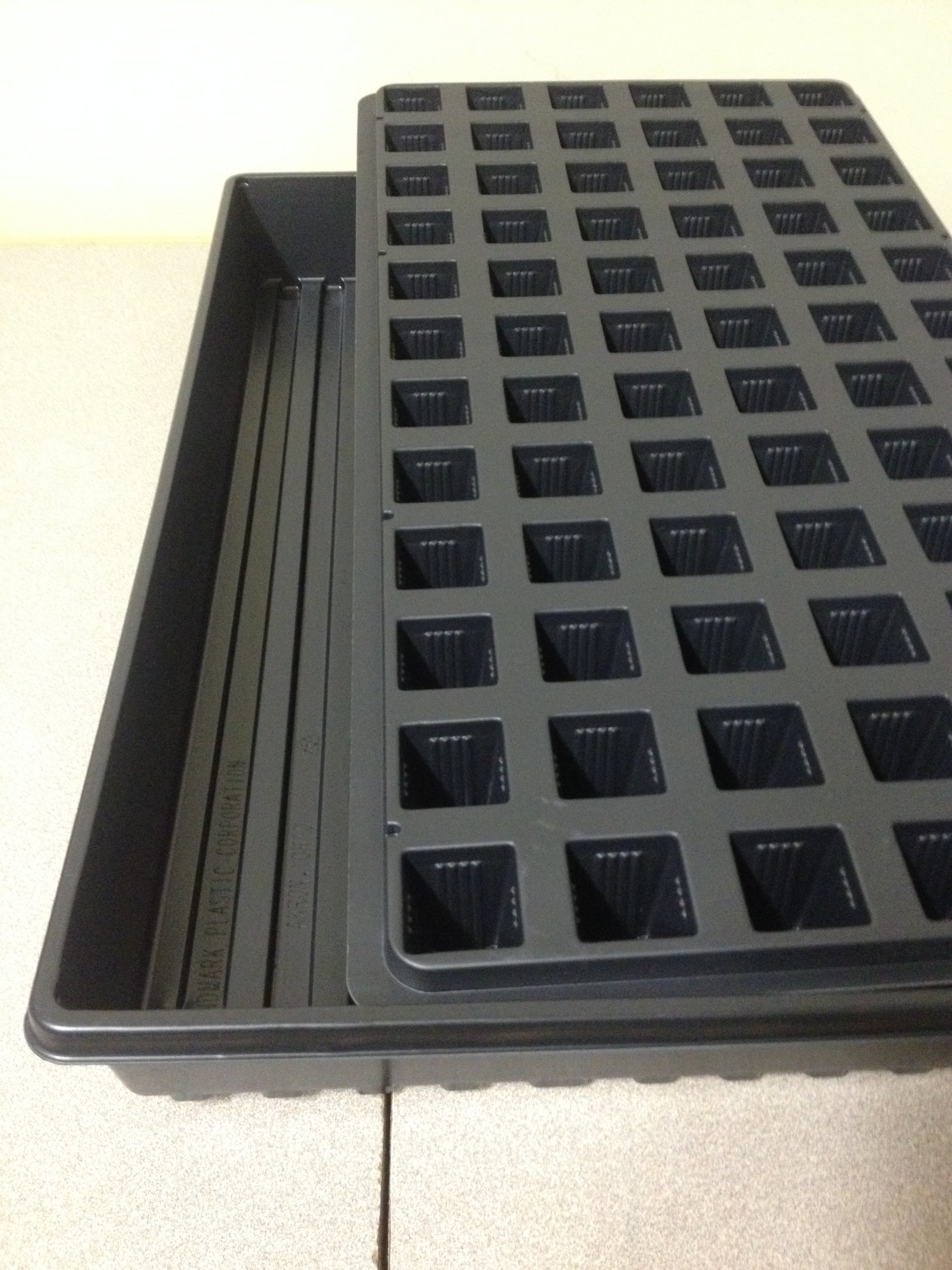 Seed Starting Trays,72 Cell Propagation Trays (Qty.5 ea.) Greenhouse Supplies