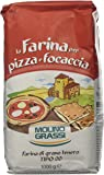 Molino Grassi Italian Flour for Pizzas and Focaccia, 1 kg, Pack of 10