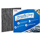 Spearhead Premium Breathe Easy Cabin Filter, Up to 25% Longer Life w/Activated Carbon (BE-809)