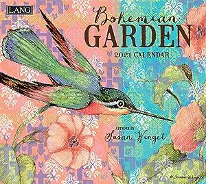 Lang Bohemian Garden 2021 Wall Calendar (21991001851)
