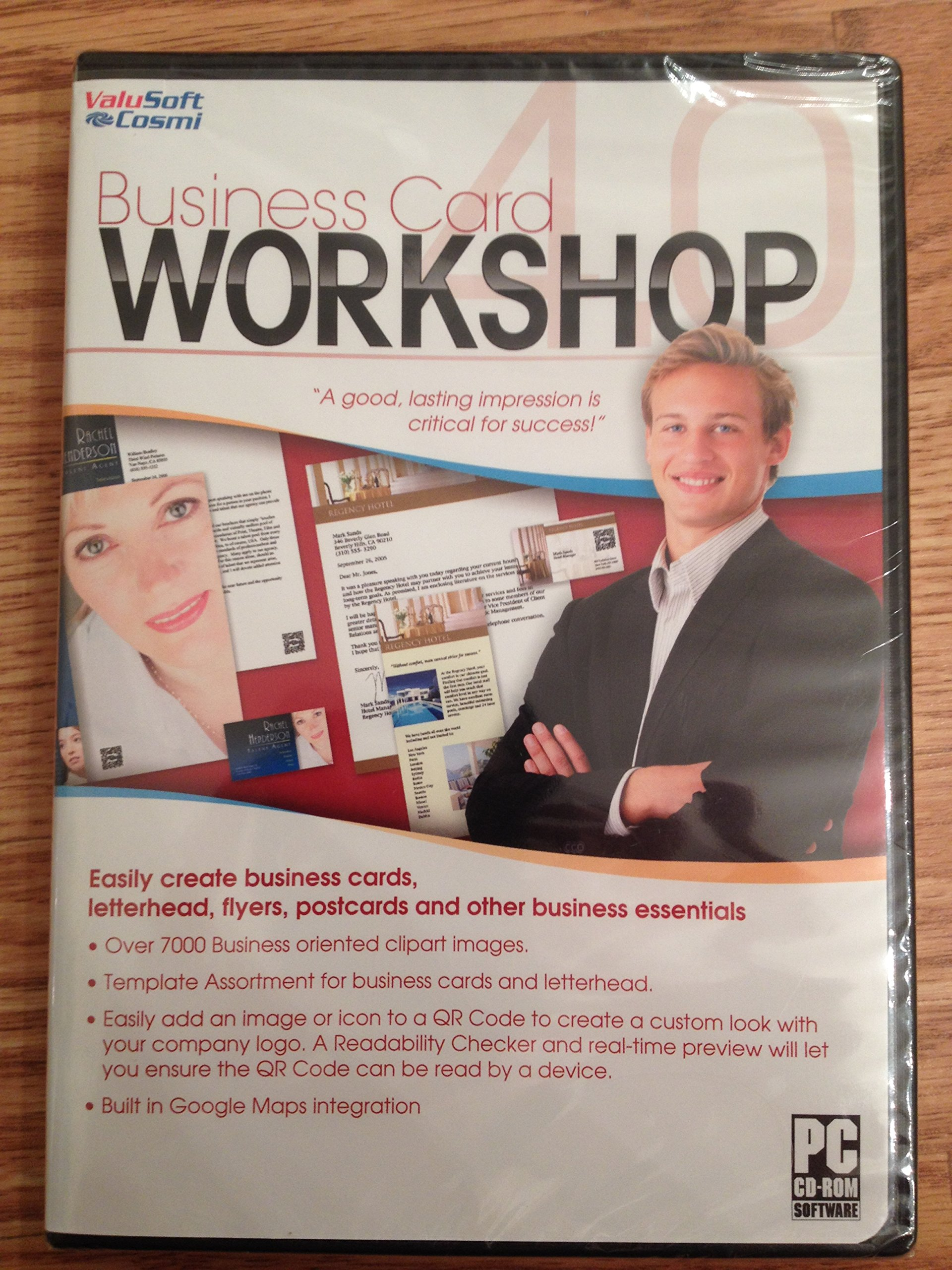 Amazon Business Card Workshop Video Games