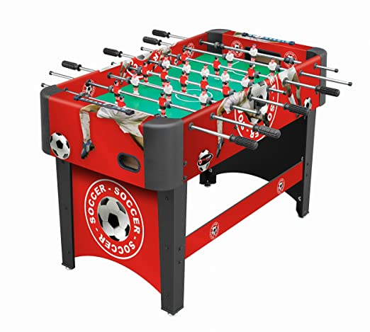 Playcraft Sport Foosball Table, Red, 48-Inch