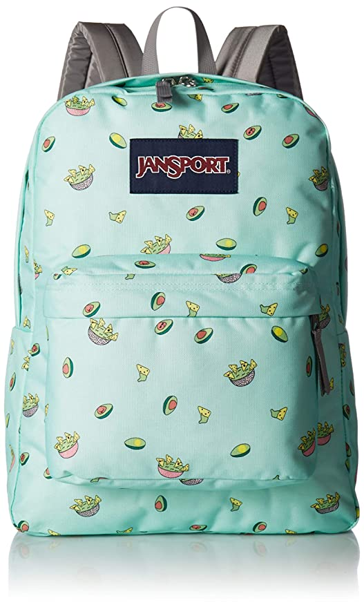 f49c03ded JanSport SuperBreak Backpack - Avocado Party: Amazon.ca: Luggage & Bags