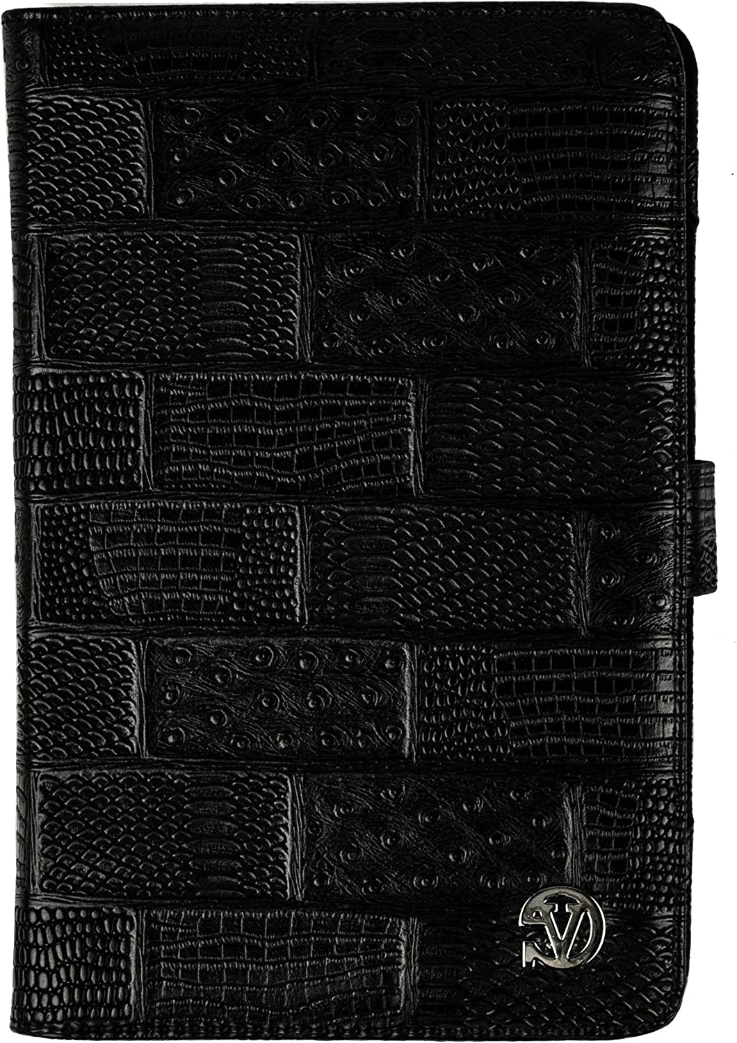 Dauphine Snake Skin Travel Wallet Case for Akaso KingPad R70 7 inch Tablet
