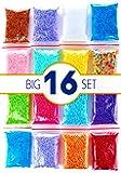 Foam beads slime kit - Slime supplies styrofoam balls - Foam balls Crafts Supplies - Floam beads for making Homemade slime - micro floam balls DIY slime supplies