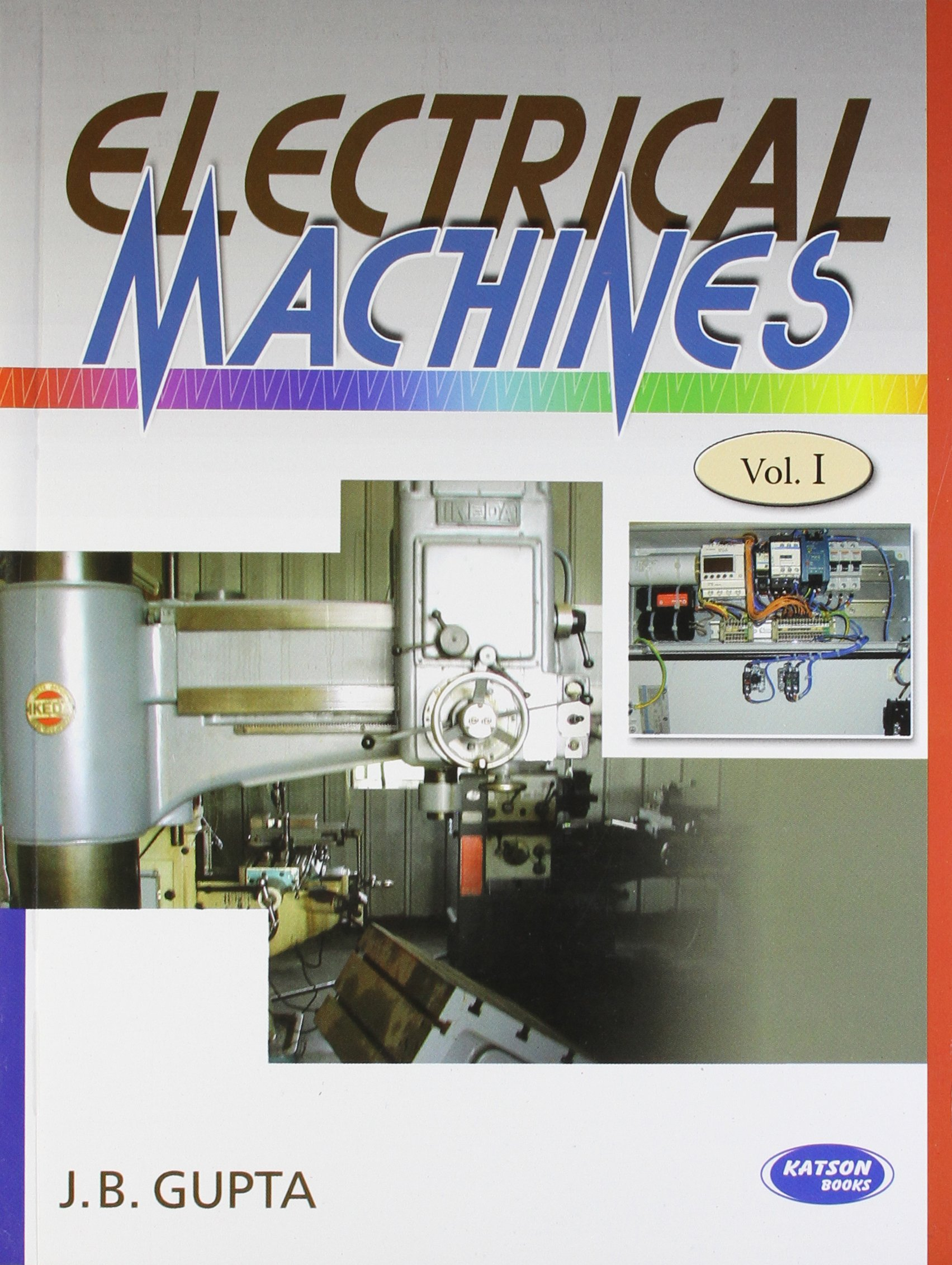 Buy Electrical Machines Vol 1 Book Online At Low Prices In India Electronic Circuit By Jb Gupta Reviews Ratings