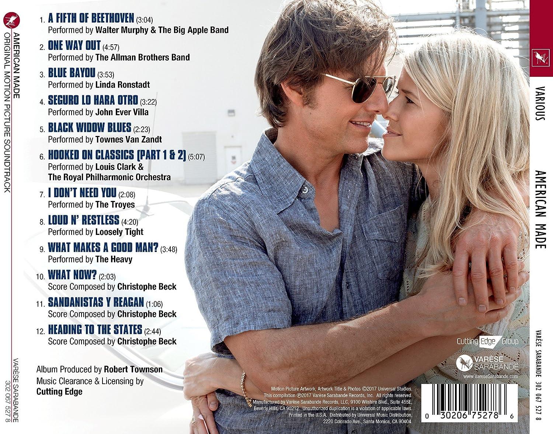 9012c34064 Various - American Made - Original Motion Picture Soundtrack - Amazon.com  Music