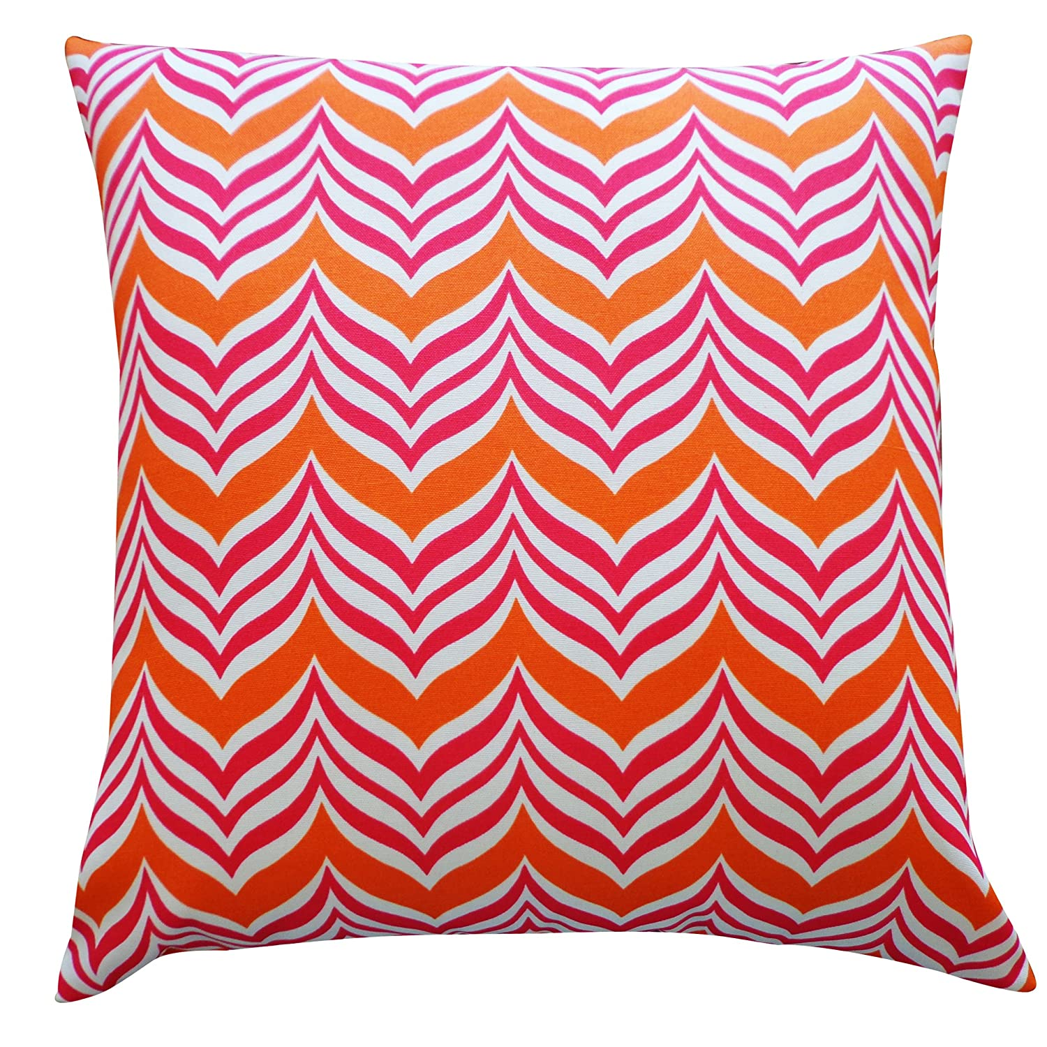 Jiti Mosque Outdoor Polyester Throw Pillow, 12 by 20-Inch, Pink/Orange