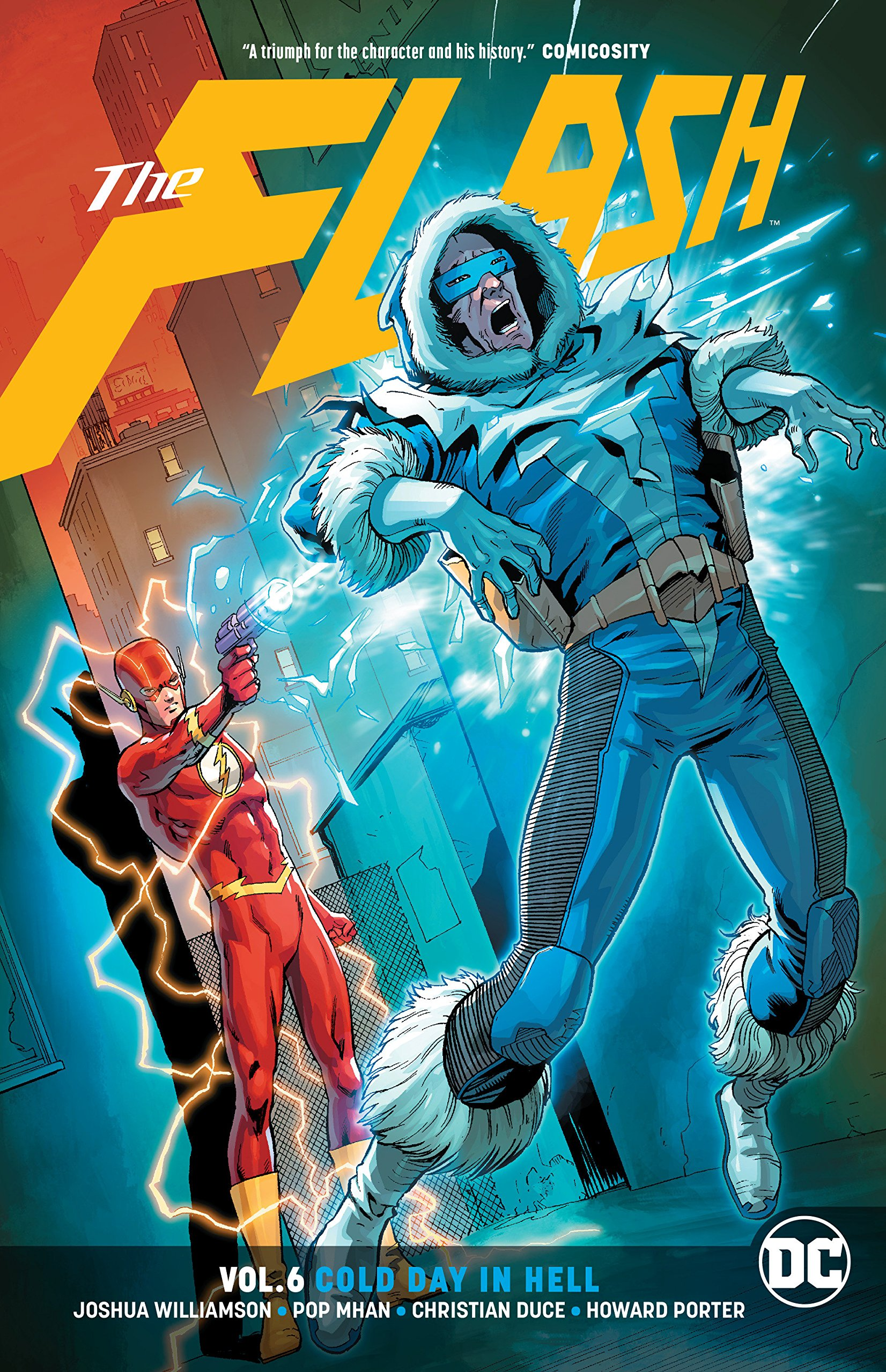 Image result for Flash Vol. 6 Cold Day In Hell