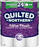Quilted Northern  Ultra Plush Toilet Paper, Pack of 12 Double Rolls, Equivalent to 24 Regular Rolls-Packaging May Vary