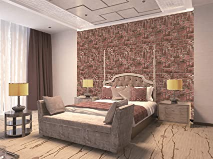 Cool Buy Eurotex 3D Brick Stone Design Wallpaper Use As Wall Home Interior And Landscaping Eliaenasavecom