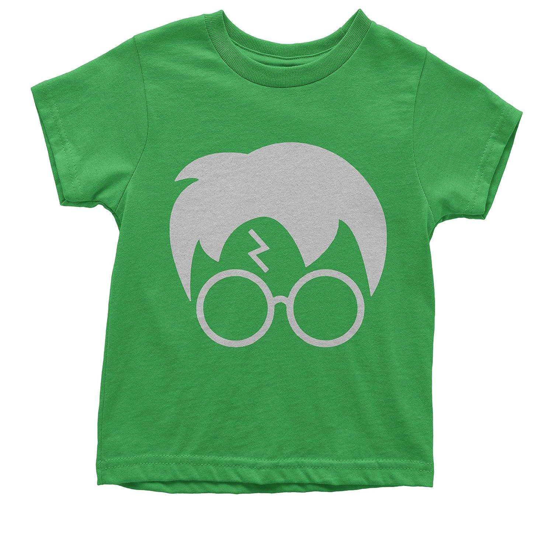 Expression Tees Harry Glasses Lightning Bolt Hair Youth T-Shirt 1527-K
