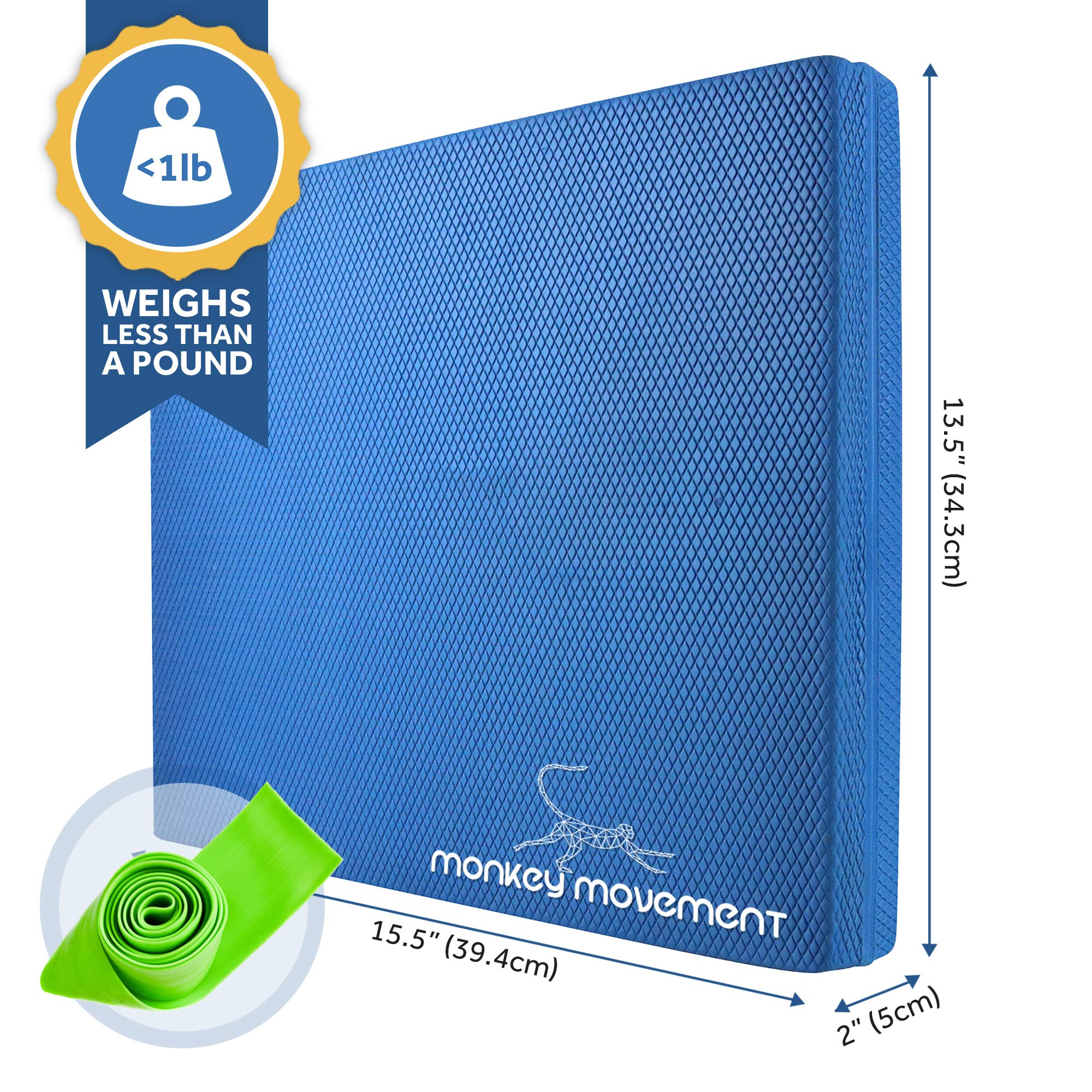Large Foam Balance Pad: Physical Therapy & Stability Training