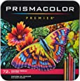 Prismacolor Premier Colored Pencils | Art Supplies for Drawing, Sketching, Adult Coloring | Soft Core Color Pencils, 72 Pack