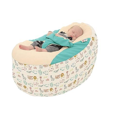 Rucomfy Gaga Plus - Puf para bebé y bebé, diseño de animales de ...