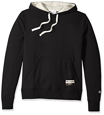 ea88a3b6d Champion Men's Authentic Originals Sueded Fleece Pullover Hoodie, Black,  Small