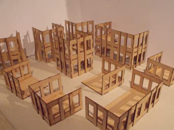 varried height commercial buildings - Wargames Building
