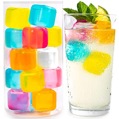 Amazon.com: Reusable Ice Cubes For Drinks - Chills Drinks ...