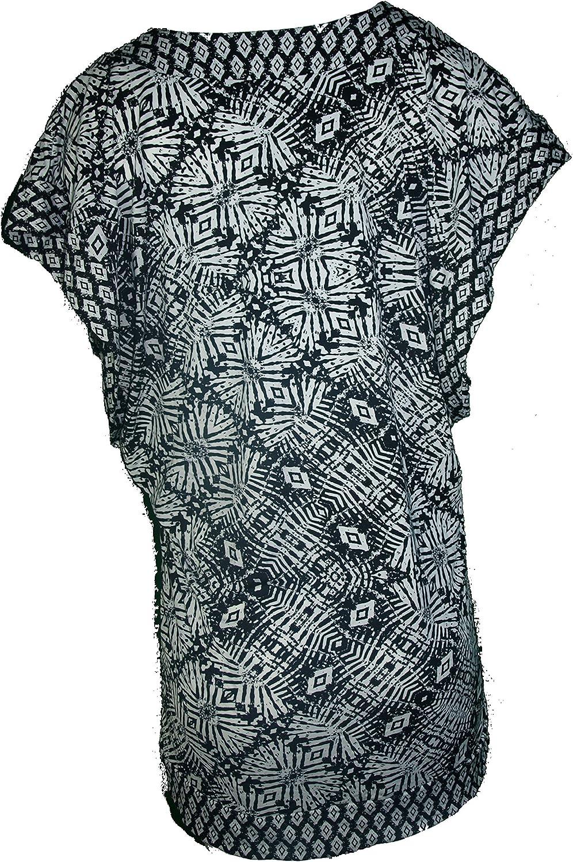 Bar III Womens Caftan Cover Up Tunic Black S