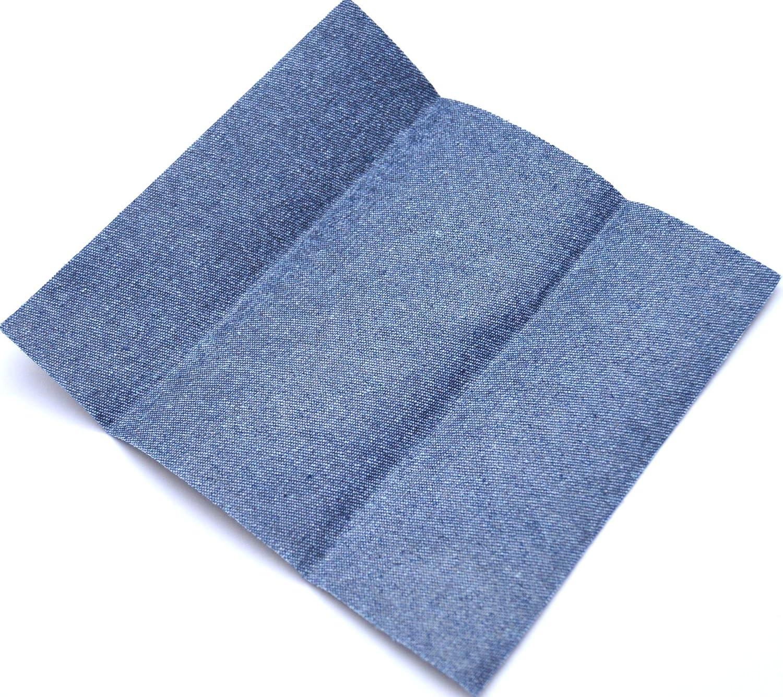 Kleiber - Parche de reparación para Pantalones Vaqueros, 17 x 15 cm, Color Azul Oscuro
