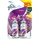 Desodorizador Glade Toque de Frescor Refil Lavanda Leve 2 Com Desconto 12ml