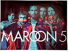 777 Tri-Seven Entertainment Maroon 5 Poster Music Art Print