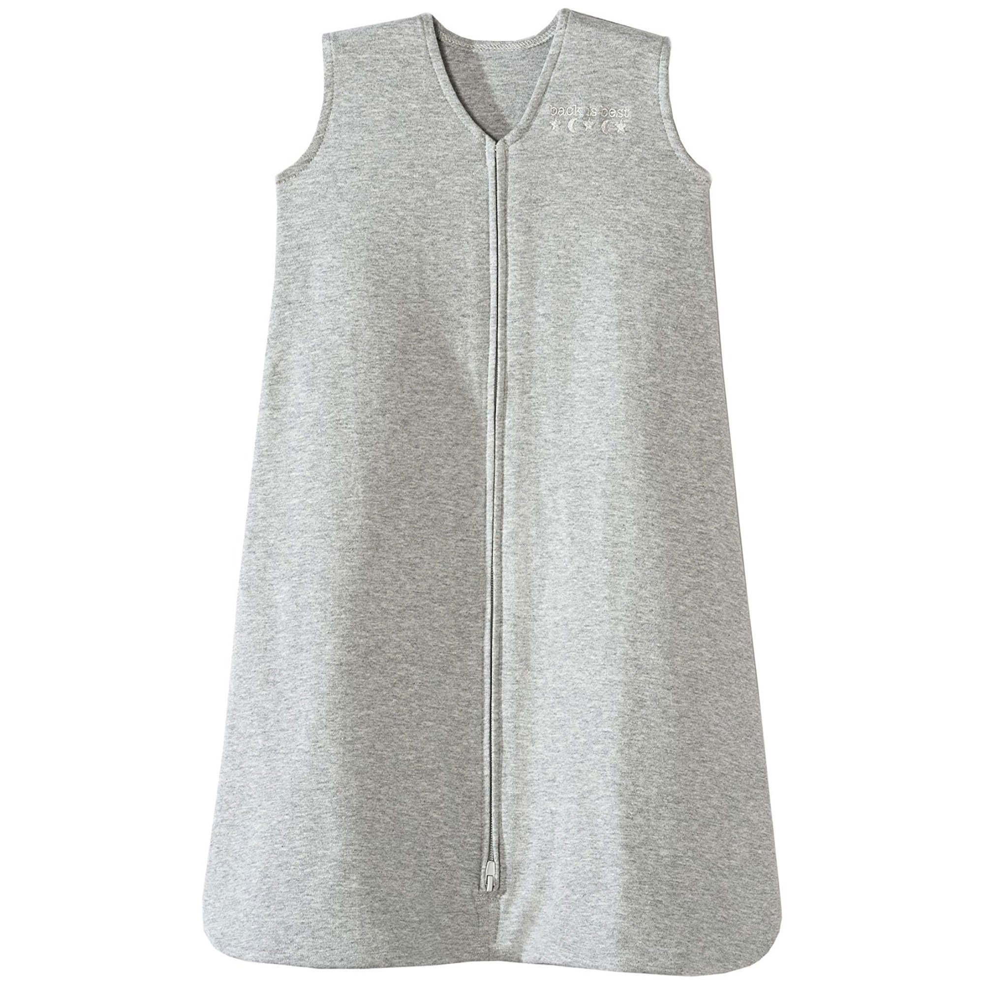 Halo Sleepsack 100% Cotton Wearable Blanket, Heather Gray, X-Large by Halo