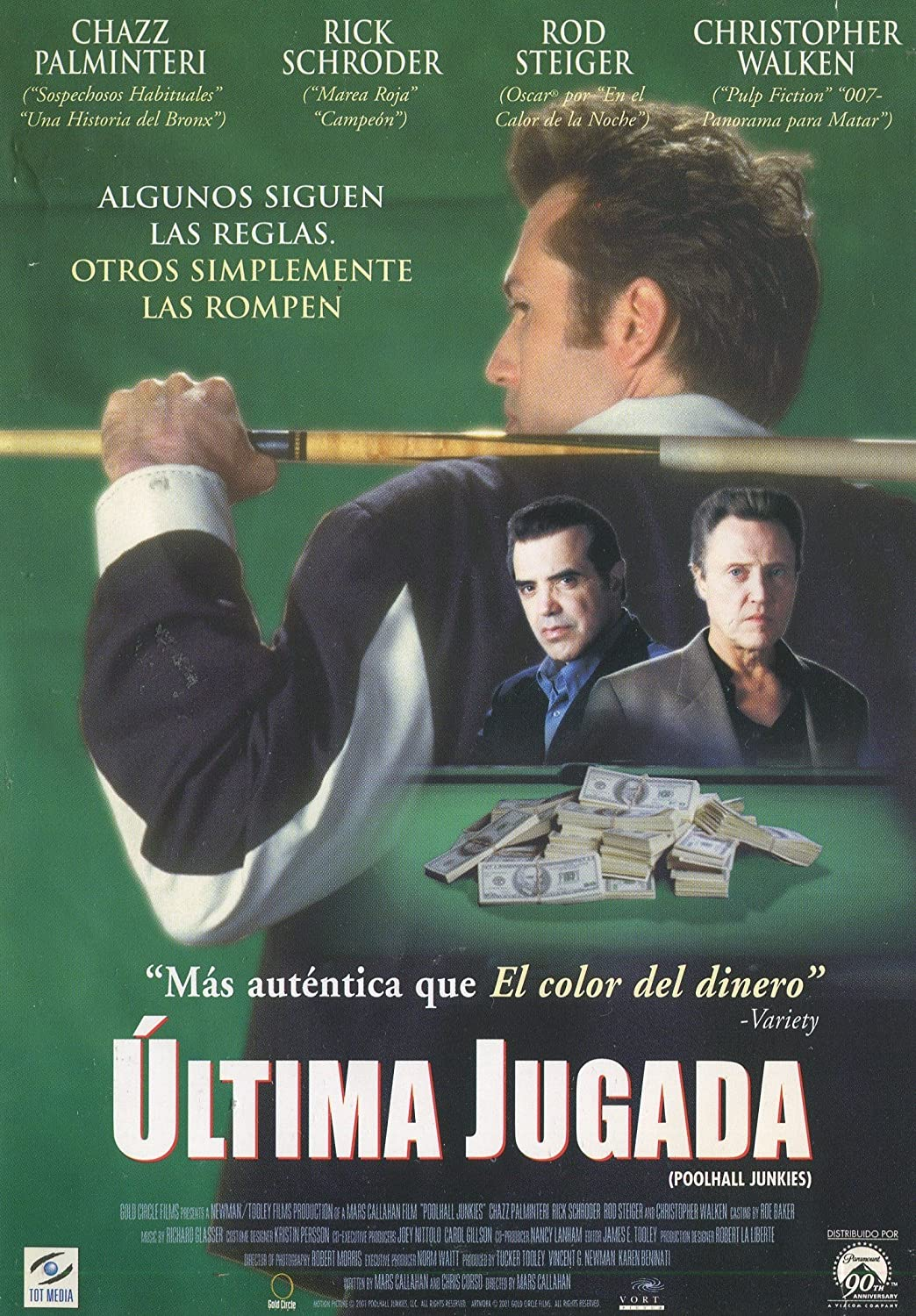Ultima Jugada (Poolhall Junkies) [DVD]: Amazon.es: Chazz ...