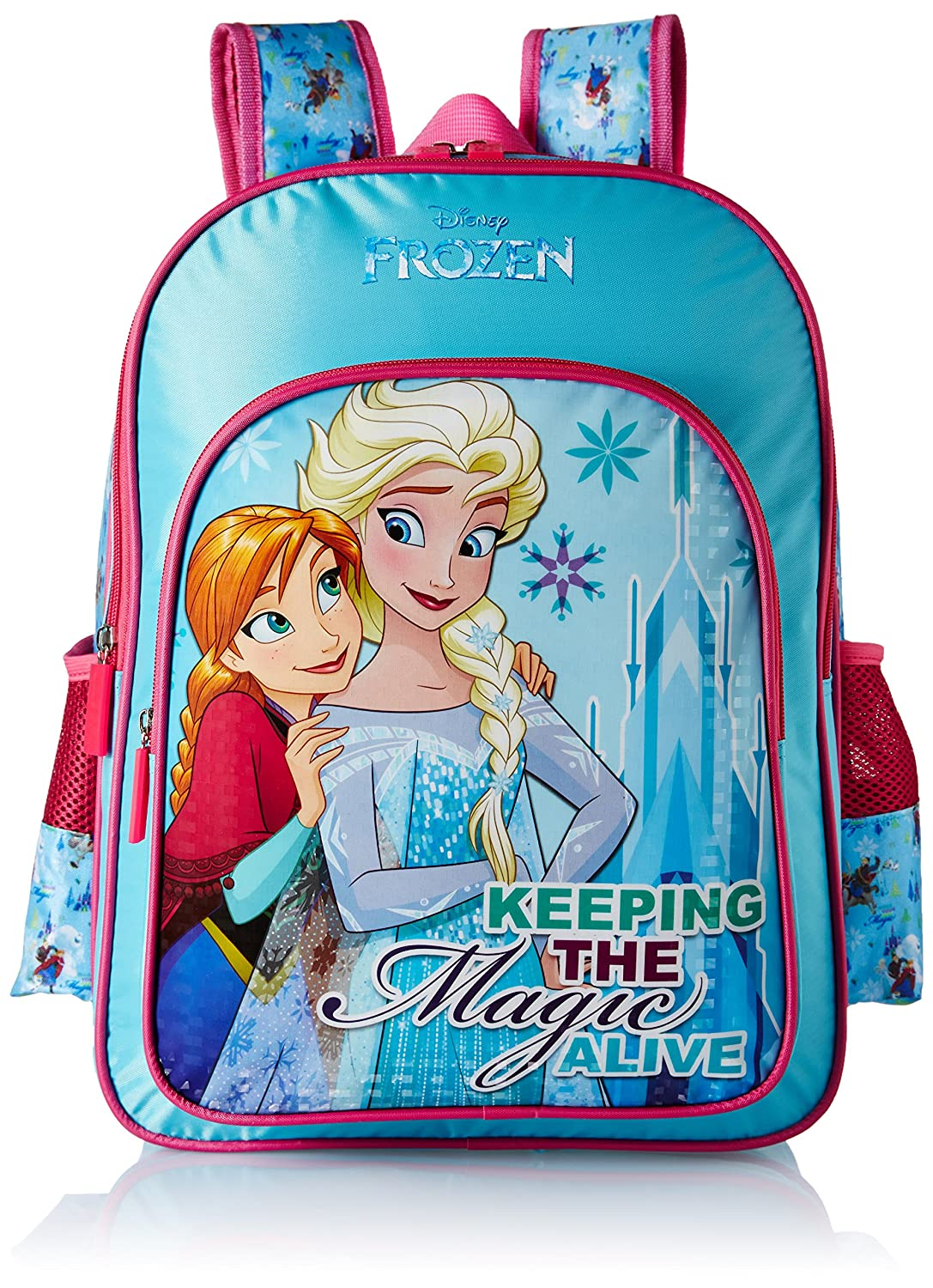 Frozen Blue School Bag for Children of Age Group 6 - 8 years | Size ...